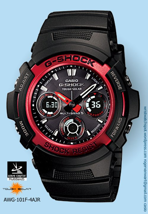 awg-101f-4ajr_g-shock watch red ip coated stainless bezel dope