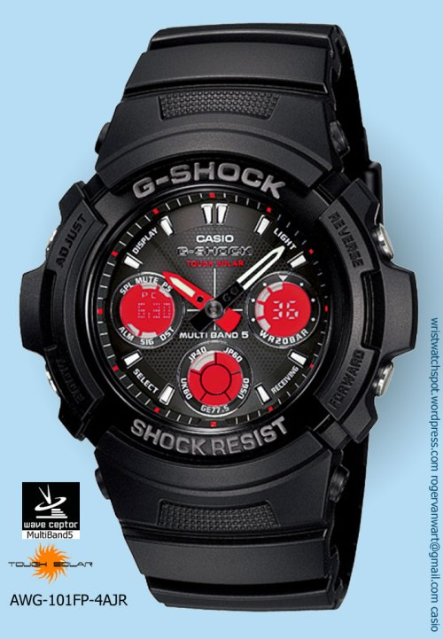 awg-101fp-4ajr_g-shock watch red reverse subdials