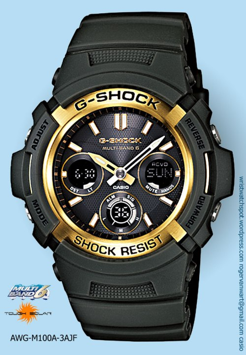 awg-m100a-3ajf_g-shock watch gold special edition