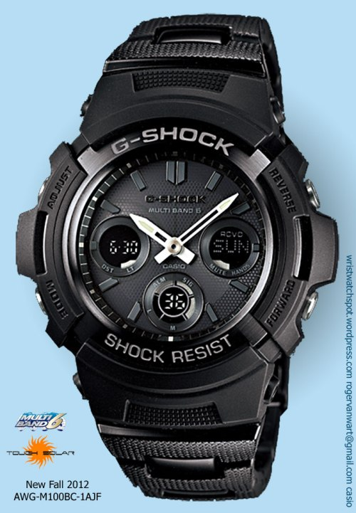 awg-m100bc-1ajf_g-shock watch new 2012 awgm100bc-1a