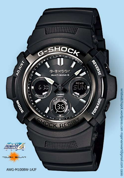 awg-m100bw-1ajf_g-shock watch new analog digital