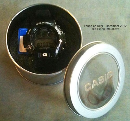 fake black g-shock dw6900 tin counterfeit knock-off canada china