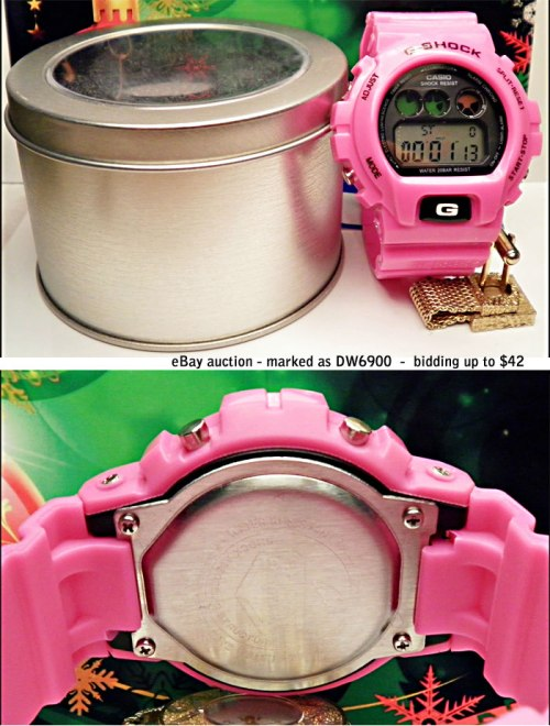 dw6900 ebay fake g-shocks, bootleg watches, counterfeit wristwatch, phony gshock, replica g-shock, knock-off, illegal,  sham scam, forgery bogus infringement