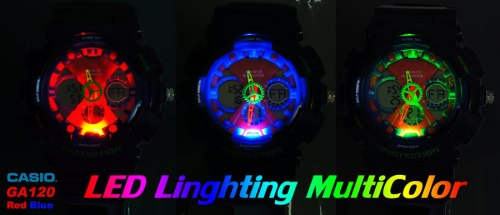 ga120 backlight fake g-shocks, bootleg watches, counterfeit wristwatch, phony gshock, replica g-shock, knock-off, illegal,  sham scam, forgery bogus infringement