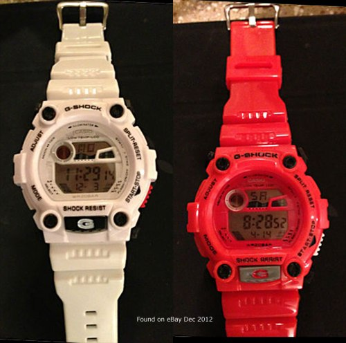 fake bootleg knock-off g-shock