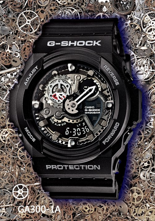ga300-1a_g-shock, new g-shock watch 2013, gears