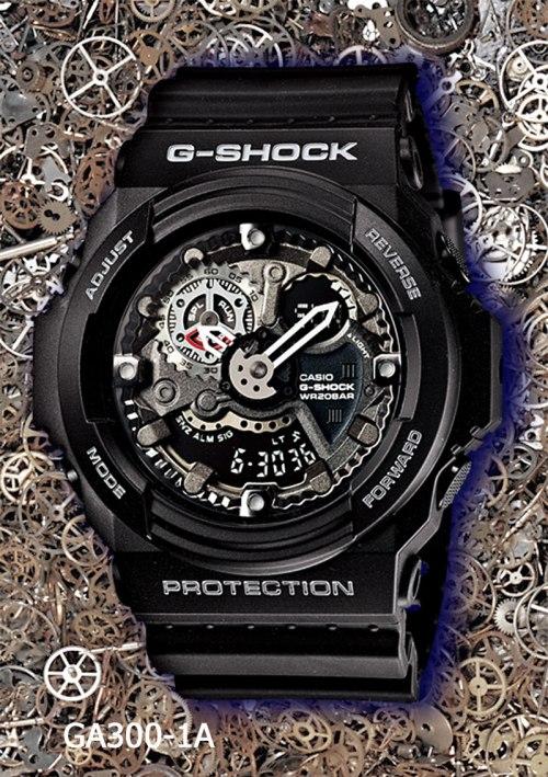 ga300-1a_g-shock, new g-shock watch 2013, gears