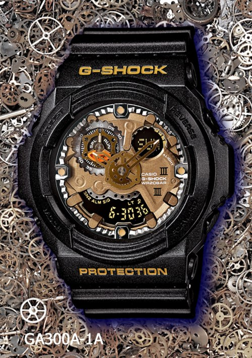 ga300a-1a_g-shock, new g-shock watch 2013, gears