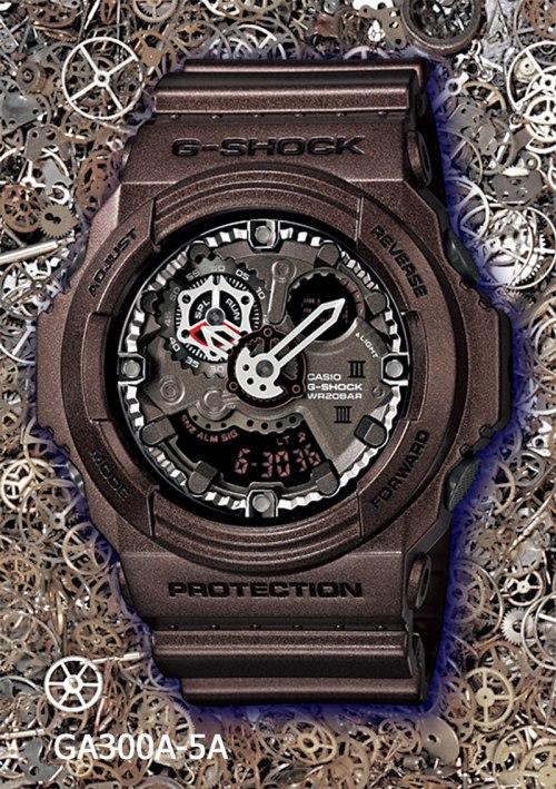 ga300a-5a_g-shock, new g-shock watch 2013, gears
