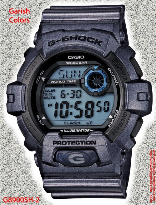 new 2013 watch garish G8900SH-2_g-shock