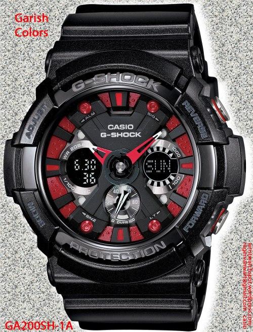 GA200SH-1A_g-shock new