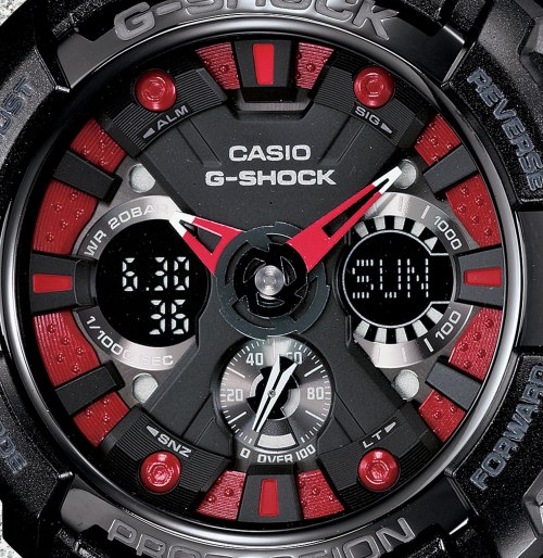 GA200SH-1A_g-shock new watch 2013 garish analog digital