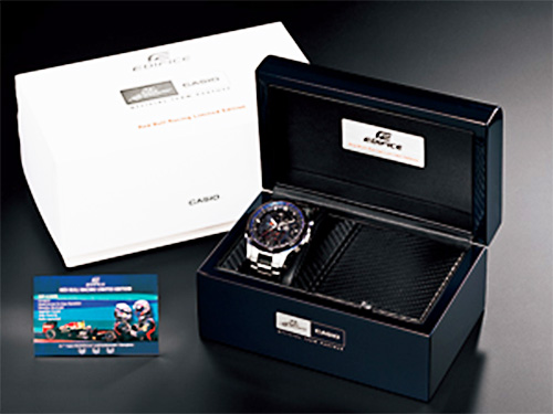 edifice special commemorative package limited edition eqwa1200rb-1 2013