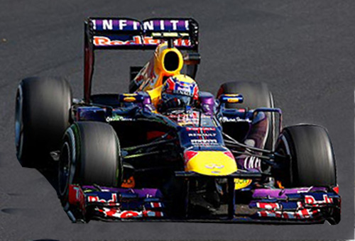 formula one racing mark webber vettel
