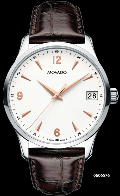 movado dress watch timepiece elegance quality durability