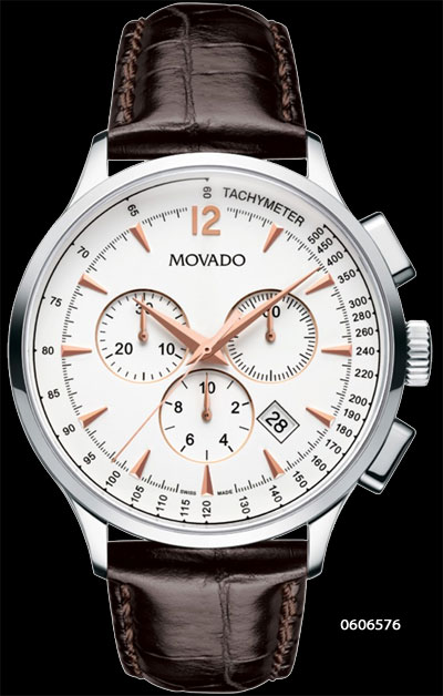 movado, class, fashion, dress timepiece watch chronograph joma