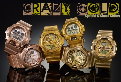 crazy_gold_g-shock_2014, ga110gd-9a, ga200gd-9a, ga300gd-9a, dw6900gd-9 gdx8900gd-9 2014