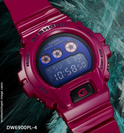 dw6900pl-4_g-shock_2014 mans wrist watch pink color