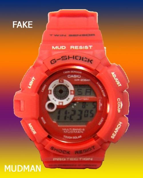FAKE_G-SHOCK_mudman_1  knock-off counterfeit 2014
