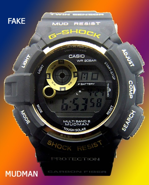 FAKE_G-SHOCK_mudman_2 counterfeit 2014