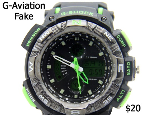 replica watch counterfeit  g-aviation_fake_g-shock