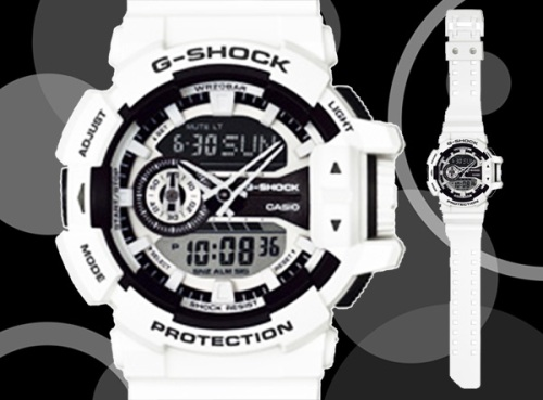 g-shock_ga400-7a_2014 roger vanwart editor , white watch
