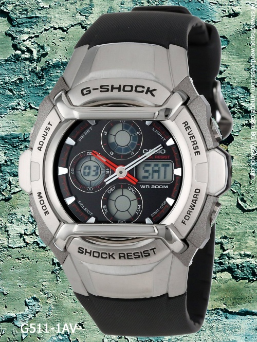 g511-1av g-shock 2003 analog digital