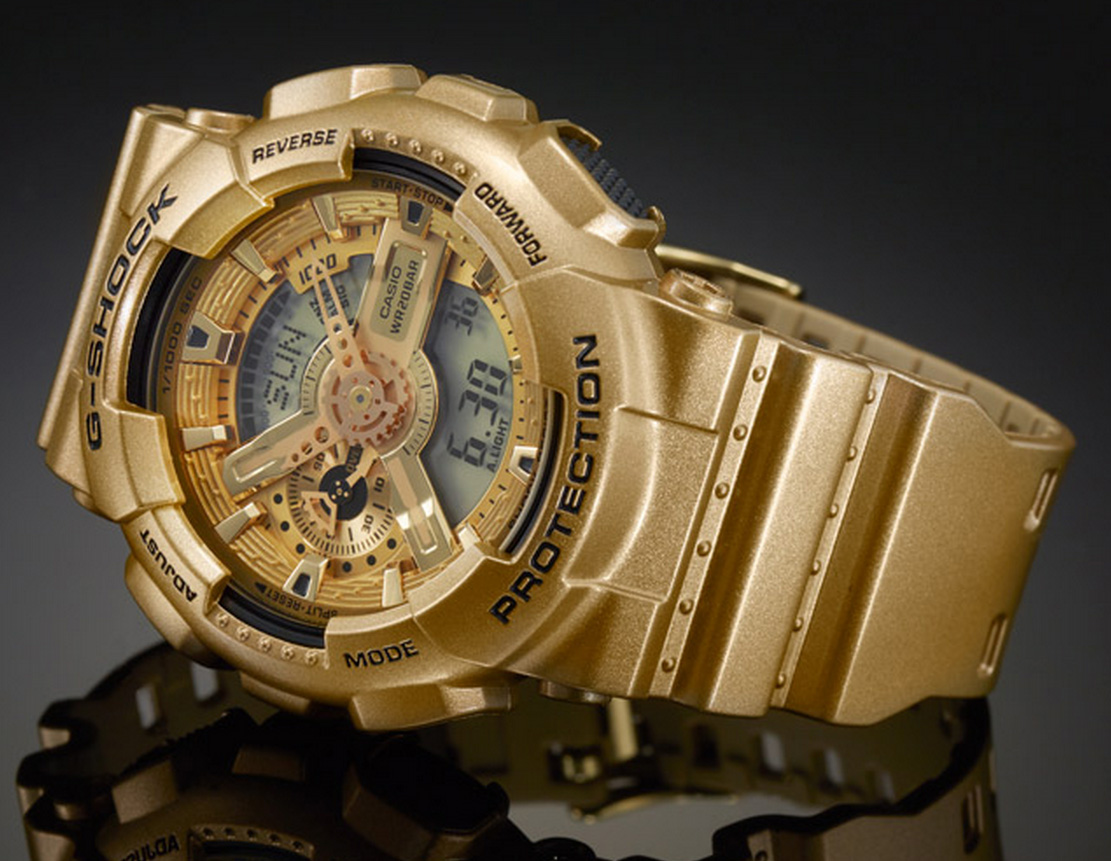 Crazy gold gold crazy wrist watch spot for Watches gold