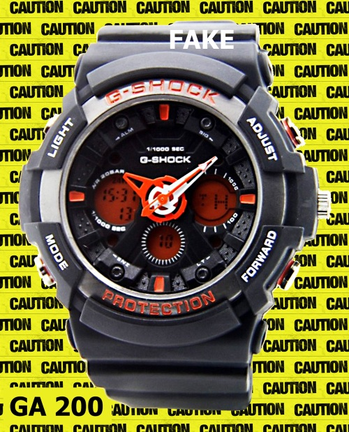 replica ga-200_fake-g-shock_2014  counterfeit knockoff watch black red