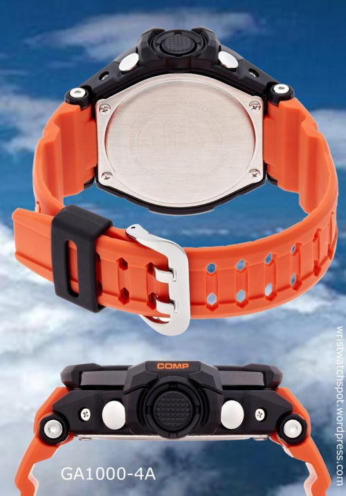 ga1000-4a_g-shock_band side view strap