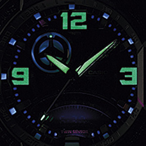 tekubiquity roger vanwart neon light ultraviolet ga1000 g-shock watch
