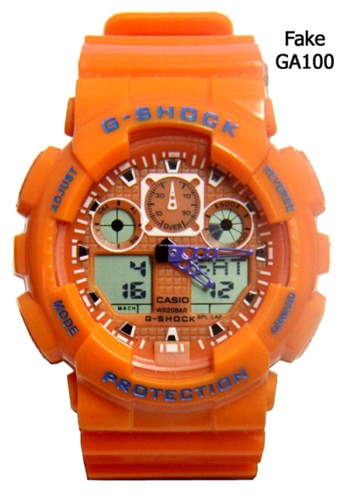 replica counterfeit orange black watch  ga100_fake_g-shock_2014_3