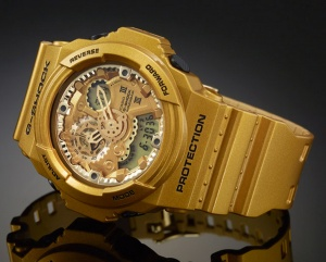 GA300GD-9A_g-shock_3 gears watch gold crazy