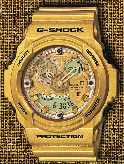 GA300GD-9A_g-shock_4watch gold crazy 2014 band dial strap new