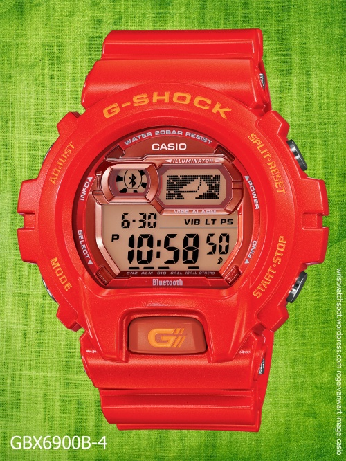 gbx6900b-4_bluetooth_g--shock ex large jelly orange watch casio 2014