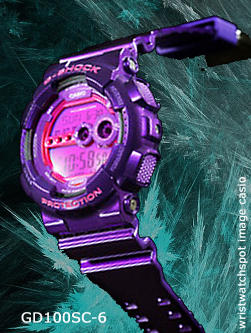 GD100SC-6_g-shock_2014 wrist watch men pink
