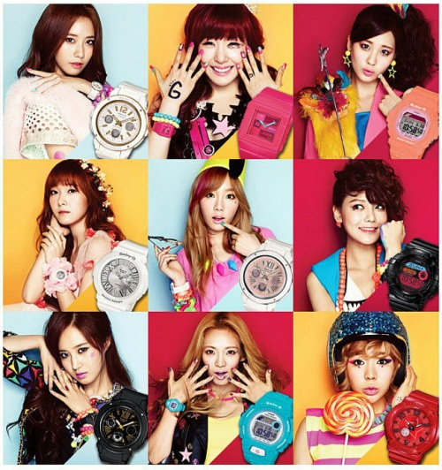 girls_generation_baby-g_2014 BGD-5000K-4, love the sea and the earth,i.c.e.r.c.,