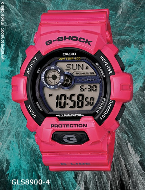 gls8900-4_g-shock_2014 man men pink watch