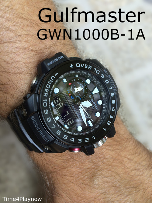 on the arm gulfmaaster gwn1000b-1 gshock g-shock tekubiquity