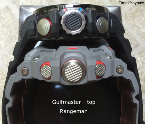 Compare Gulfmaster to Rangeman - side view