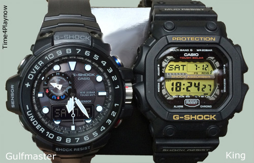 Compare Gulfmaster to the King