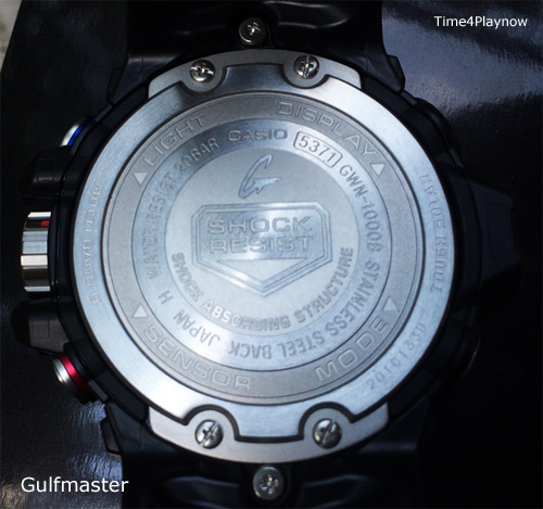 Gulfmaster case back gwn1000 g-shock