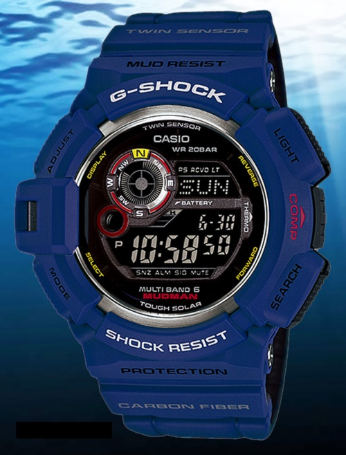 gw9300nv-2 mudman g-shock men in navy 2014