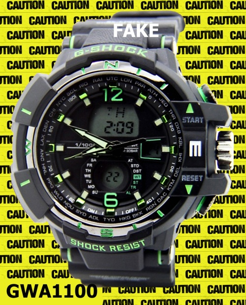 counterfeit gwa-1100_fake-g-shock_2014_ replica wrist watch black yellow