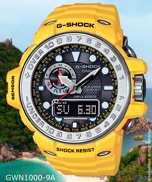 GWN-1000-9A_g-shock yellow watch