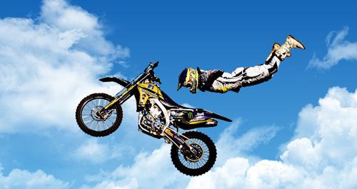 motocross, gd400 g-shock x games f;lying dwd5600p