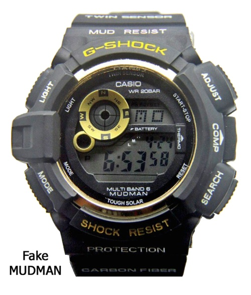mudman_fake_g-shock_2014  replica counterfeit knock off black gold watch