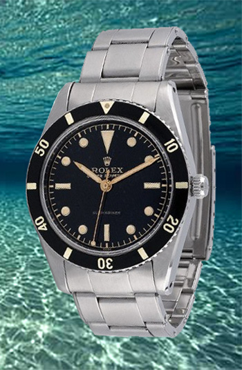 rolex diving watch submariner 1953 collectible