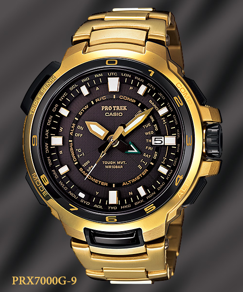 gold watch PRX-7000G-9_protrek