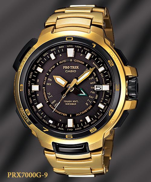 gold watch PRX-7000G-9_protrek